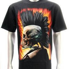 r105 Sz L Rock Eagle T-shirt Tattoo Skull Punk Ghost Music Present Boyfriend Men