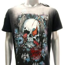 m271 Minute Mirth T-shirt M L Tattoo Skull Batman Zombie Grim Devil Biker Rider