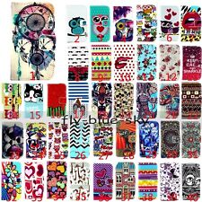 For Samsung Magnetic Anchor Wallet PU Leather Stand Card Holder Flip Case Cover