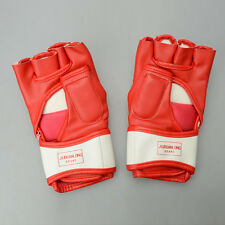 Cool Wearproof PU Half-fingered Gloves for 9-level Dragon Style Boxing 2 Colors