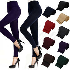 Women Winter Warm Slim Leggings Stretch Pants Thick Footless Stockings Tights