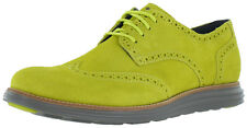 Cole Haan Lunargrand Wingtip Suede Dress Shoes Oxfords