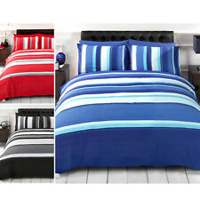 Striking Bold and Vibrant Duvet Quilt Cover, Contemporary Patterned Bedding Set