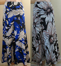 NWOT WINDSMOOR beige mix flowers or blue mix feathers A line skirt, 10,12,16