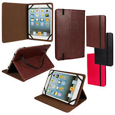 Elegant Universal PU Leather Folio Case Cover w/ Stand for 7.5 - 8.5 inch Tablet