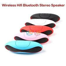Portable Wireless Bluetooth HiFi Stereo Speaker TF Slot For iPhone Mp3 PC Music