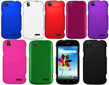 For ZTE Grand X Z777 Rubberized HARD Protector Case Snap On Phone Cover