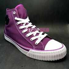PF FLYERS by NEW BALANCE CENTER PURPLE WHITE MENS CASUAL SNEAKERS SHOES