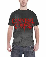 Cannibal Corpse A Skeletal Domain Official Mens New Black All Over Print T Shirt