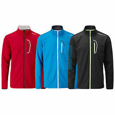 2015 STUBURT MENS SPORTLITE FULL ZIP BONDED FLEECE - NEW GOLF WINDPROOF TOP