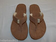 Womens Ugg W Tasmina Flip Flops Shoes new 1647 Chestnut che