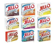 Jello Cook & Serve Pudding Pie Filling Dessert 10 Boxes