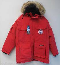 Canada Goose Mens Expedition Parka Jacket Coat 4565M Red Nwt