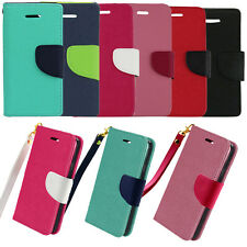 For Samsung Galaxy S5 Sport G860 Hybrid Leather Flip Wallet Case Kickstand Pouch