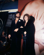 BARBRA STREISAND WITH JON PETERS AT A STAR IS BORN PREMIERE PHOTO OR POSTER
