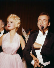 BOBBY DARIN SANDRA DEE SMOKING PIPE AT HOLLYWOOD EVENT PHOTO OR POSTER