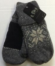 Men's Wool Thermal Insulated Mittens NEW!!