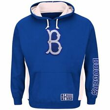 Majestic Brooklyn Dodgers Cooperstown Collection Mens Pullover Hooded Sweatshirt