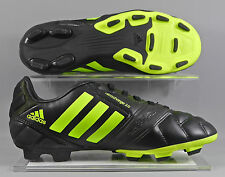 Adidas F32842 Nitrocharge 2.0 TRX FG kids football boots - Black/Green