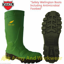 Vital VW604 Alpha Ice Pack Insulated Safety Steel Toecap/Midsole Wellington Boot