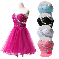 CHEAP Short Ball Gown Party Prom Bridesmaid Evening Dresses Size 6-8-10-12-14-16