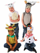 Age 3-6 Kids Nativity Play Animal Costume Childrens Christmas Fancy Dress Outfit