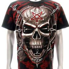 r177 Rock Eagle T-shirt SPECIAL Tattoo Skull Bloody Demon Fashion Dark Magic Tee