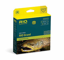 RIO Grand Fly Line Weight Forward WF Floating for Fast Action Rods Dual Tone