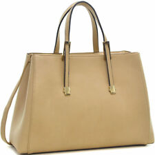 Women Leather Classic Briefcase Business Bag with Shoulder Strap Laptop Bag New