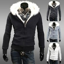 BIG SALE  CHEAP Slim Fit Winter Warm Sportswear Men Coats Jacket Outwear Hooded