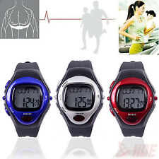 New Sport Pulse Heart Rate Monitor Calories Counter LED Fitness Pedometer Watch