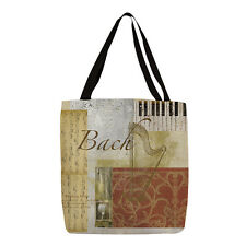 Thumbprintz Classic Composers Bach Printed Canvas Tote