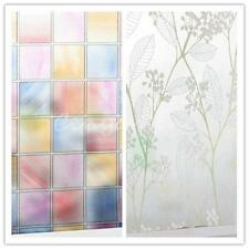 Windows Film Stickers Glass Privacy Covers Self Adhesive Home Bedroom 45cm*2M