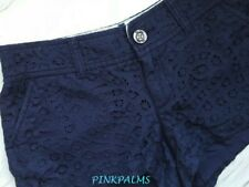 LILLY PULITZER WALSH SHORT TRUE NAVY PAISLEY LACE NWT 2,4,6,8,10 RETAIL 88.00