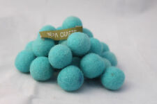 Namaste  25 counts of  2cm/ 20mm Fair Trade  Hand Felted Woollen Felt Balls