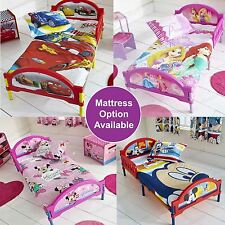 KIDS CHARACTER COSYTIME TODDLER JUNIOR BEDS - MATTRESS OPTION AVAILABLE