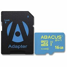 16 GB microSD (Class 10) Memory Card High Speed for |+SD Adapter|