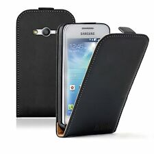 ULTRA SLIM Leather Cace Cover Pouch Saver For Samsung Galaxy Ace 4 / SM-G357