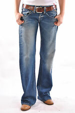 Replay Jeans Jive Faded Denim Washed Damen Woman