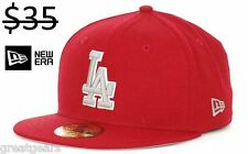 Los Angeles Dodgers Men New Era 59Fifty Fitted MLB Baseball Hat Cap Team Apparel