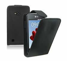 Leather Flip Case Cover Pouch Saver for Mobile Phone LG L50 Sporty D213N