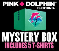 Pink Dolphin Assorted 5 Piece Shirt Set Clothing Authentic Mens Cotton Tee