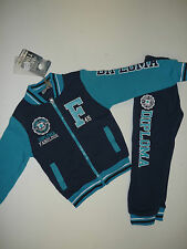 "BNWT Boys Applique & Embroidered College Style ""F"" Quality Tracksuit Ages 4 - 12"