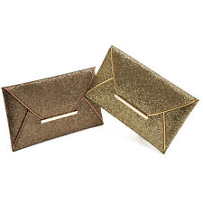 Fashion Bling Womens Evening Party Bag Sequins Envelope Bag Purse Clutch Handbag