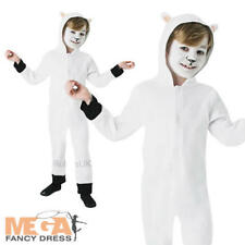 Christmas Sheep Kids Fancy Dress Nativity Play Animal Boys Girls Costume Outfit