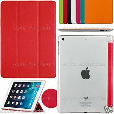 Slim Folding Book Leather Stand Case Cover For iPad 6/5/4/3/2 Samsung Tab 4 Note