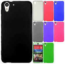 For HTC Desire EYE TPU CANDY Flexi Gel Skin Case Phone Protector Cover Accessory