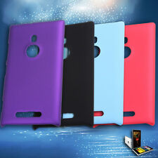 NEW JELLY GEL  For Nokia Lumia 925 N925 Case Flip Book Hard Cover TPU