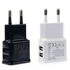 2A/1A Dual 2-Port USB Wall Adapter Charger EU Plug For Samsung Galaxy S4 S5 Note