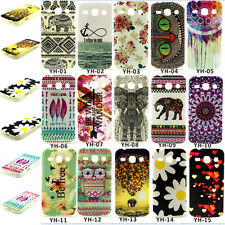 Silicone Rubber Pattern Back Case Cover For Samsung Galaxy Core Plus G3500 G3502
